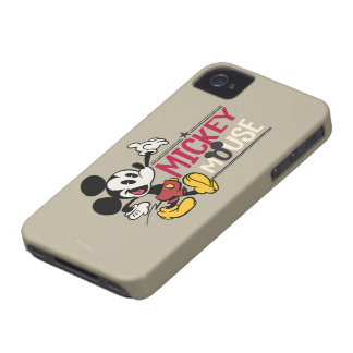 Mickey Mouse 1 Case-Mate iPhone 4 Case