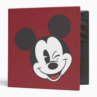 Mickey Mouse 2 Classeurs Vinyle