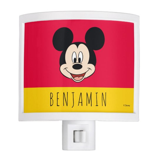 Mickey Mouse - Add Your Name Night Lights