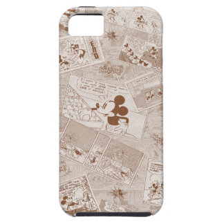 Mickey Mouse | Antique Mickey Comic Pattern iPhone 5 Cover