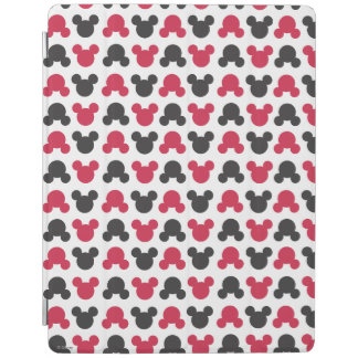 Mickey Mouse | Black and Red Pattern iPad Cover