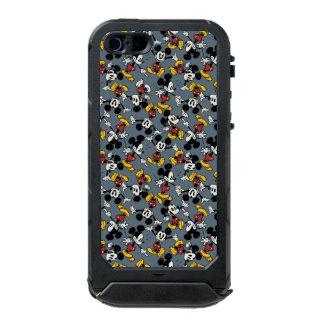 Mickey Mouse Blue Pattern Incipio ATLAS ID™ iPhone 5 Case