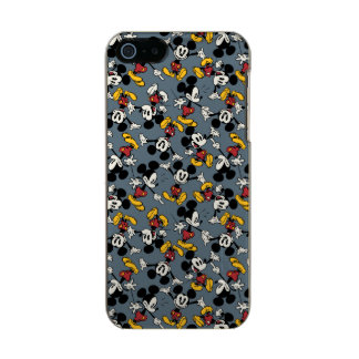 Mickey Mouse Blue Pattern Incipio Feather® Shine iPhone 5 Case