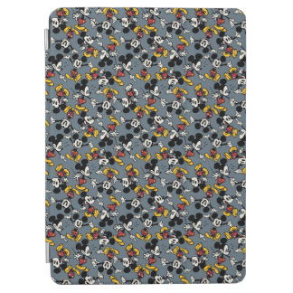Mickey Mouse Blue Pattern iPad Air Cover