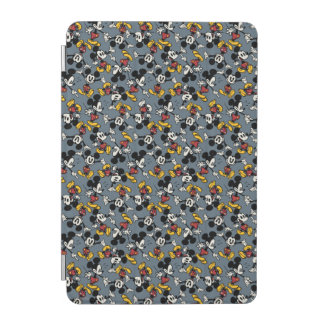 Mickey Mouse Blue Pattern iPad Mini Cover
