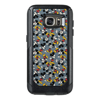 Mickey Mouse Blue Pattern OtterBox Samsung Galaxy S7 Case