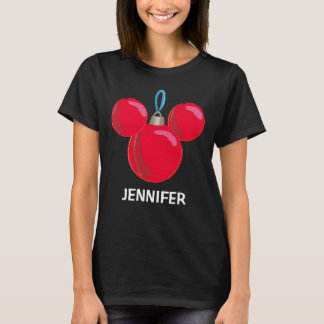 Mickey Mouse Christmas Ornament - Name T-Shirt