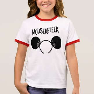 Mickey Mouse Club Ears Ringer T-Shirt