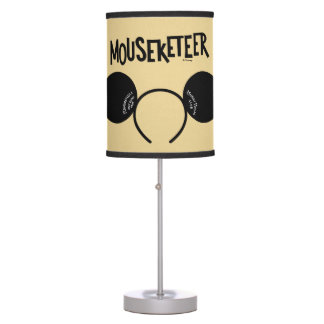 Mickey Mouse Club Ears Table Lamp
