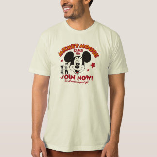 "Mickey Mouse Club ""Join Now"" T-Shirt"
