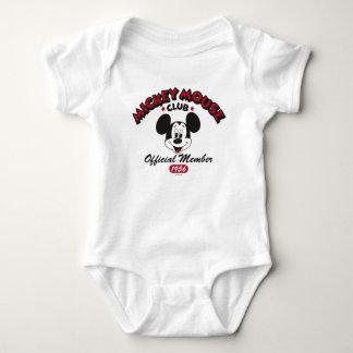Mickey Mouse Club Member Logo (1956) Baby Bodysuit