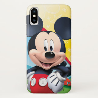 Mickey Mouse Clubhouse | Playhouse iPhone X Case