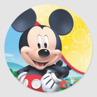 Mickey Mouse Clubhouse | Playhouse Round Sticker