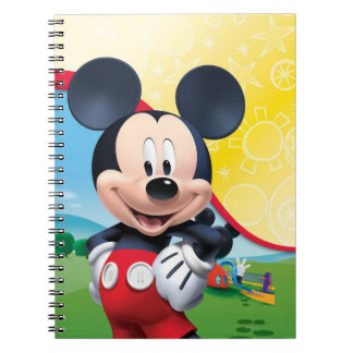 Mickey Mouse Clubhouse | Playhouse Spiral Notebooks