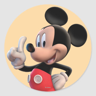 Mickey Mouse Clubhouse | Pointing Round Sticker