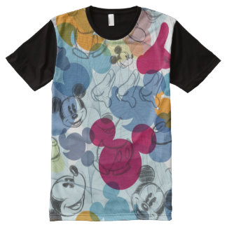 Mickey Mouse   Color Pattern