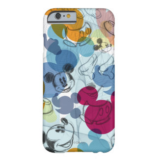 Mickey Mouse | Color Pattern Barely There iPhone 6 Case