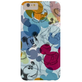 Mickey Mouse Color Pattern Barely There iPhone 6 Plus Case