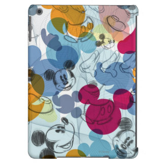 Mickey Mouse Color Pattern Cover For iPad Air