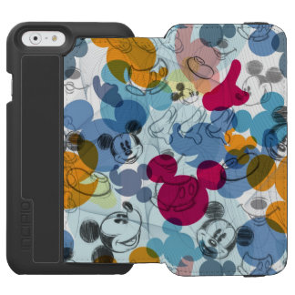 Mickey Mouse | Color Pattern Incipio Watson™ iPhone 6 Wallet Case