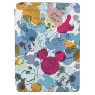 Mickey Mouse Color Pattern iPad Air Cover