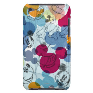 Mickey Mouse Color Pattern iPod Touch Cases