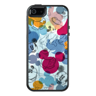 Mickey Mouse   Color Pattern OtterBox iPhone 5/5s/SE Case