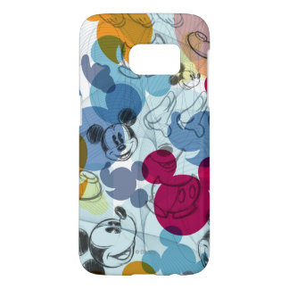 Mickey Mouse   Color Pattern Samsung Galaxy S7 Case