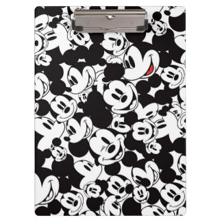 Mickey Mouse | Crowd Pattern Clipboard