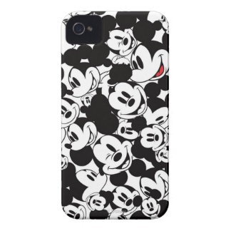 Mickey Mouse Crowd Pattern iPhone 4 Case