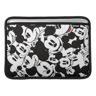 Mickey Mouse   Crowd Pattern MacBook Air Sleeve