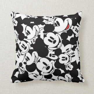 Mickey Mouse | Crowd Pattern Throw Pillows