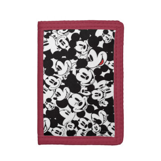 Mickey Mouse | Crowd Pattern Tri-fold Wallet