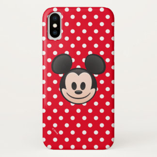 Mickey Mouse Emoji iPhone X Case