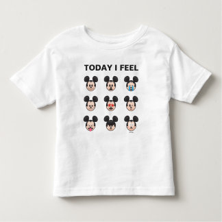 Mickey Mouse Emojis | Today I Feel Toddler T-shirt