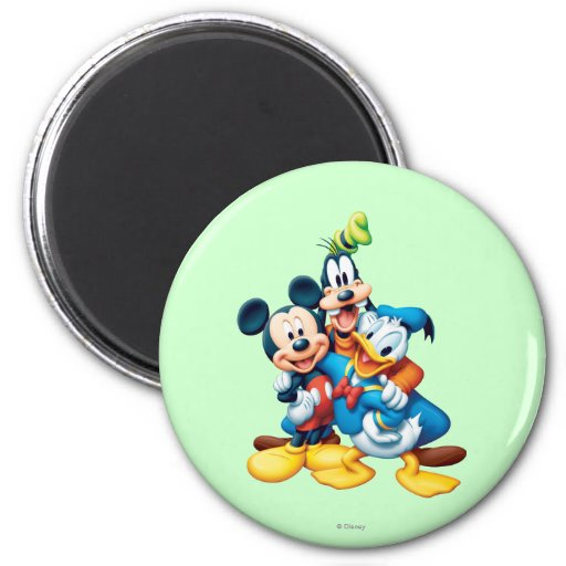 Mickey Mouse & Friends 1 Fridge Magnets