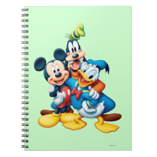 Mickey Mouse Friends 1 Note Books