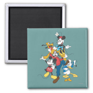 Mickey Mouse Friends 2 Fridge Magnet
