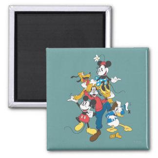Mickey Mouse Friends 2 Fridge Magnet