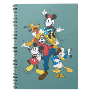 Mickey Mouse Friends 2 Note Books