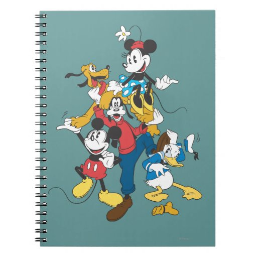 Mickey Mouse & Friends 2 Note Books