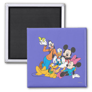 Mickey Mouse Friends 3 Fridge Magnet