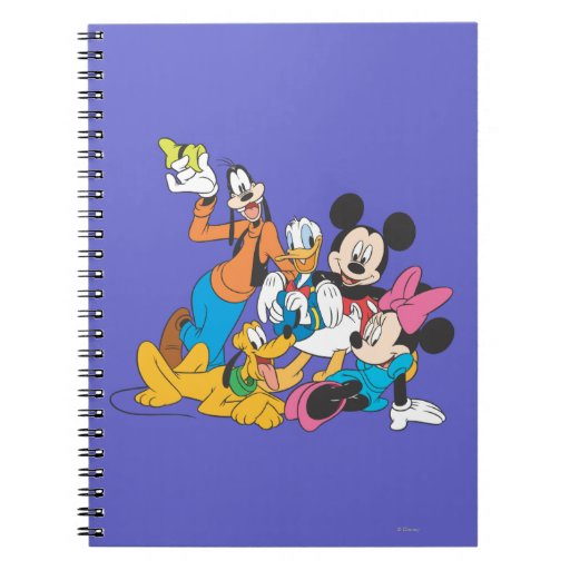 Mickey Mouse & Friends 3 Spiral Note Book