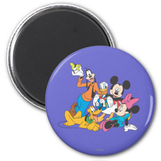 Mickey Mouse Friends 3 Refrigerator Magnet