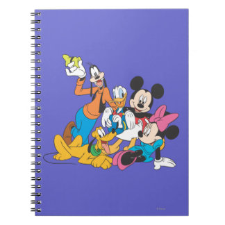 Mickey Mouse Friends 3 Spiral Note Book