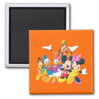 Mickey Mouse Friends 4 Magnets