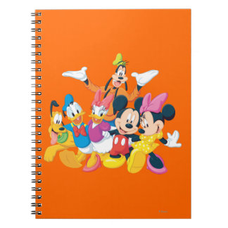 Mickey Mouse Friends 4 Note Book