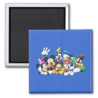Mickey Mouse Friends 5 Fridge Magnets