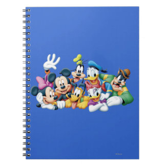 Mickey Mouse Friends 5 Note Book