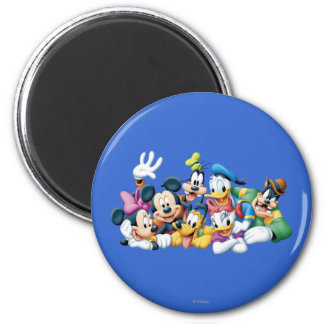 Mickey Mouse Friends 5 Refrigerator Magnets